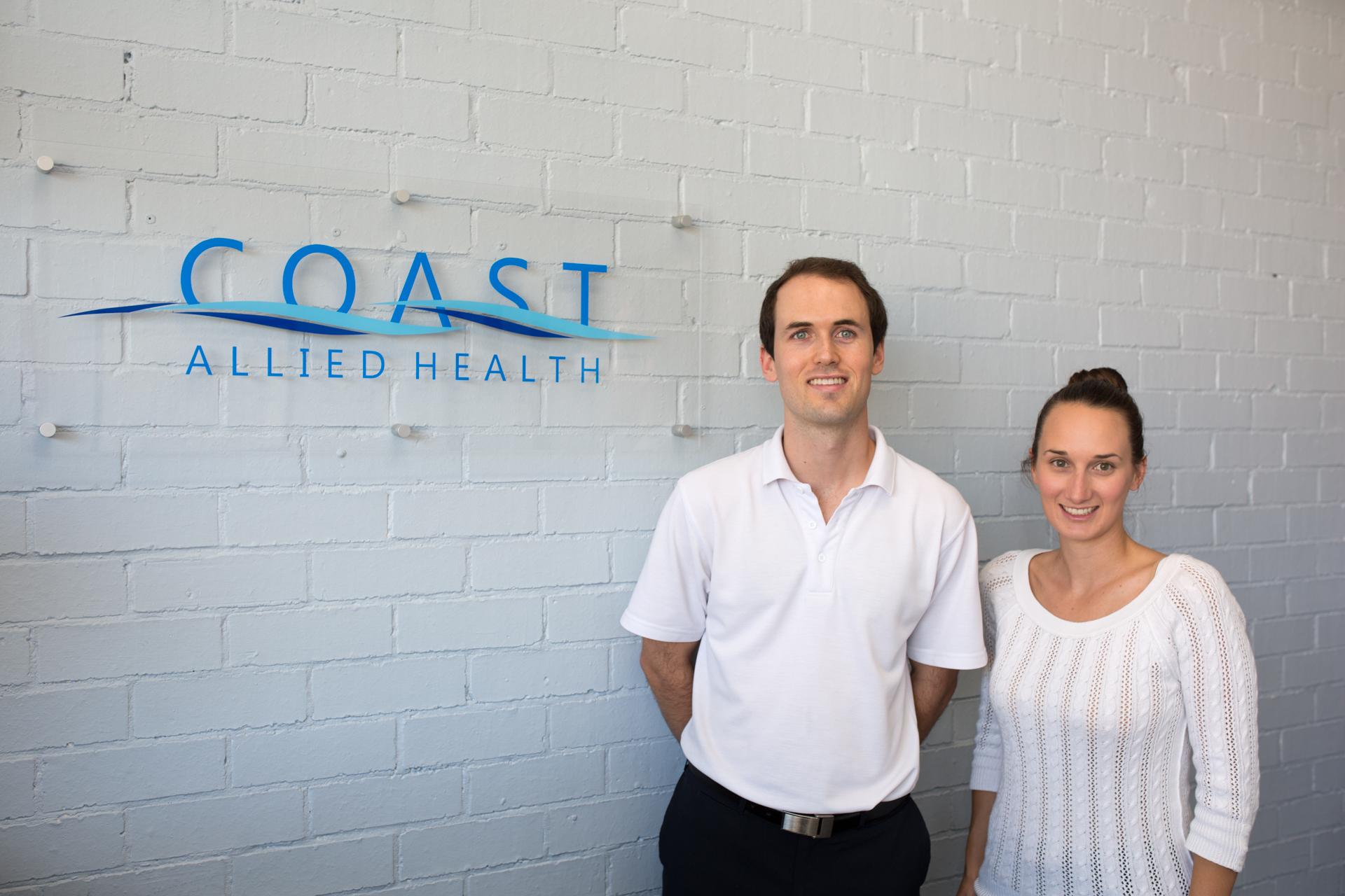 Coast Allied Health - friendly team